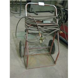 BOTTLE CART WITH HOSE