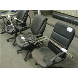 3 PC OFFICE CHAIRS