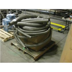 PALLET OF MICROFLEX AND FLEXIBLE METAL HOSE