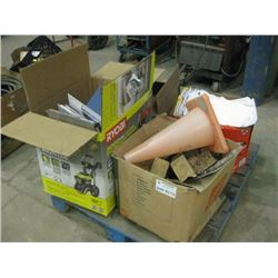 PALLET OF PAPERWORK AND GUIDS