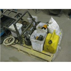 PALLET OF HARDWARE / GUIDES AND PARTS