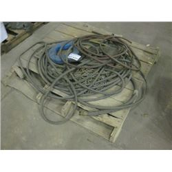 PALLET OF HOUSE / CHAINS / FISH TAPE