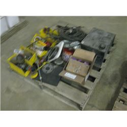 PALLET OF PARTS AND HARDWARE