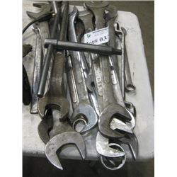 ASSORTED LARGE WRENCHES