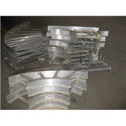 ASSORTED ELECTRICAL RACE WAY TRAYS