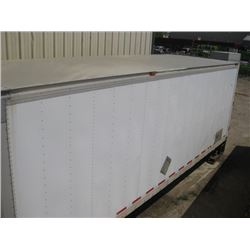 MORGAN 2004 approx 24ft CUBE VAN BOX WITH POWER GATE