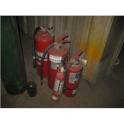 ASSORTED FIRE EXTINGUISHER