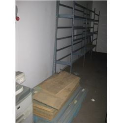 3 SECTION SHELVING UP - PALLETED SHELVING