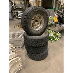 FORD TIRES ON RIMS - 285/75R16