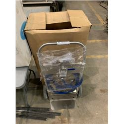 E CHEM PORTABLE 5 GALLON 517 SANITIZER SYSTEM ON CART