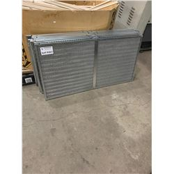 6PX APPROXIMATELY 45 X 23 ALUMINUM AIR CHILLER FILTERS