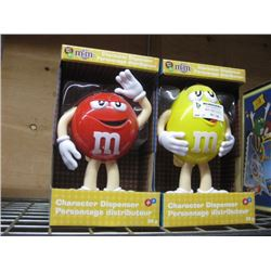 SET OF 2 M AND M ´S CHARACTER DISPENSER