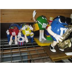 M AND M´S COLLECTOR CANDY DISPENSERS OUT OF BOX