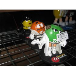 SET OF 3 M AND M'S STAR WARS FIGURES