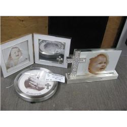 ASSORTED BAPTISM FRAMES