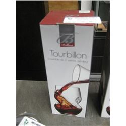 BRILLIANT TOURBILLON 2 STEMLESS WINE GLASSES