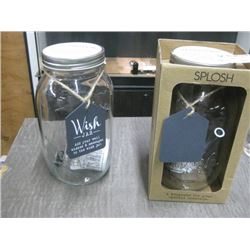SET OF 2 GRADUATION WISH JAR