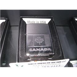NEW ZIPPO POLISHED CANADA LIGHTER
