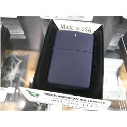 NEW ZIPPO MATTE NAVY LIGHTER