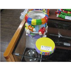 M AND M'S CANDY BAR CERAMIC COOKIE JAR