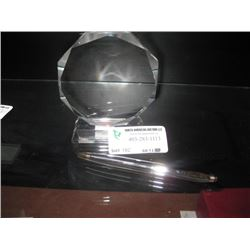 OCTAGON AWARD AND PEN