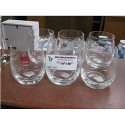 SET OF 6 RONA OLD FASHION OOTCH GLASSES