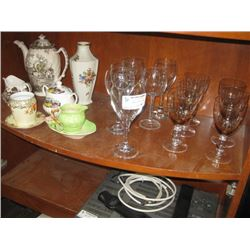 TEAPOTS AND WINE GLASSES
