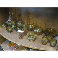ORANGE STAINED GLASS WARE