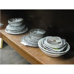 SET OF 3 ASSORTED DINNERWARE SETS