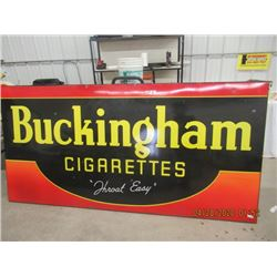 "Y - Porc 1745 Buckingham Cigarettes 47""  x 95""  Vintage"