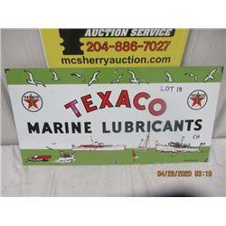 """CH- Porc Texaco Marine Lubricants 15"""" x 30"""" Modern"""