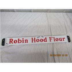 VI- Porc Robin Hood Flour Door Bar - VIntage