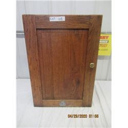 "Y-Wood Wall Mount Cabinet- 27""x18"" x 9"" Vintage"