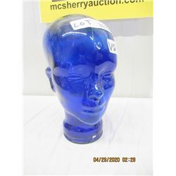 "V2- Glass Store Head Mannican 11"" Modern"