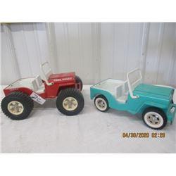 CZ - Pkg of 2 1) Tonka Jeep 1) Tonka Dune Buggy Vintage