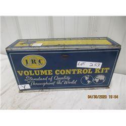 "Y- IRC Metal Cabinet - 7"" x 14"" x 4"" - Vintage"