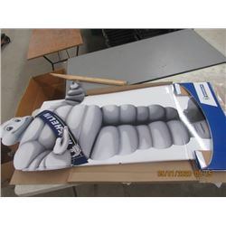 "NS- Carboard Michelin Man Display 68"" x 40"" W Not Very Old"