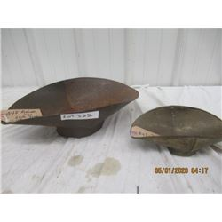 BN- Small Footed Tray & Medium Footed Tray Vintage