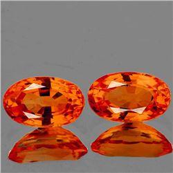 Natural Intense Orange Sapphire [Flawless-VVS]