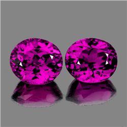 Natural Magenta Purple Rhodolite Garnet Pair -Untreated