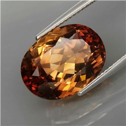 Natural  Imperial Champagne Topaz 12.51 Ct
