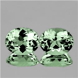 Natural Green Tea Amethyst Pair 10x8 MM - FL
