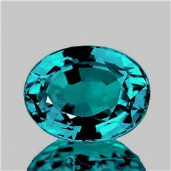 NATURAL Untreated ELECTRIC BLUE ZIRCON [VVS]