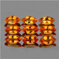 NATURAL INTENSE GOLDEN ORANGE CITRINE [IF-VVS]