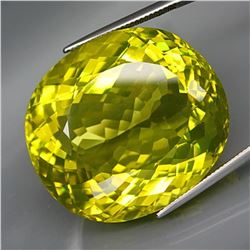 Natural JUMBO Lemon Yellow Quartz 117.06 Ct