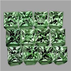Natural Unheated  Green Sapphire 2.40 MM - FL