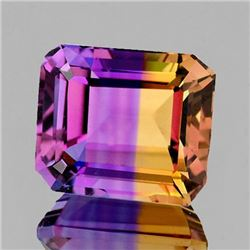 NATURAL ANAHI AMETRINE FROM BOLIVIA 14.5x13 MM - FL