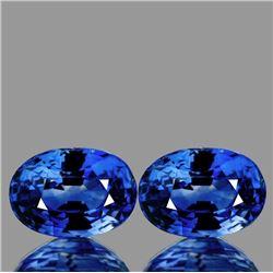 Natural AAA Ceylon Blue Sapphire Pair 6x4 MM - FL