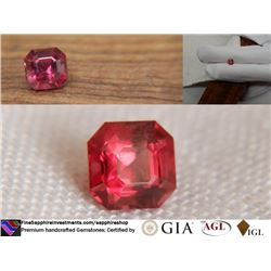 Padparadscha Sapphire, unheated   GIR/GIA 1.12 ct