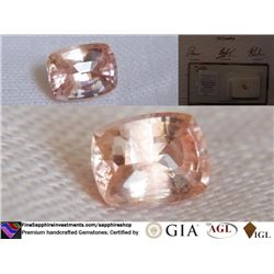 Padparadscha Sapphire, unheated | AGL 1.18 ct